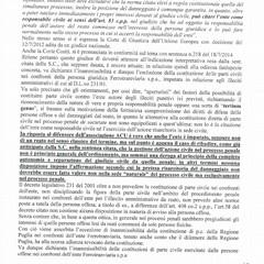 Sconto treni: solo l'ACU, ammessa a parte civile tra le associazioni a tutela dei diritti dei consumatori-utenti