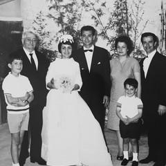 Foto storica della famiglia Paparella
