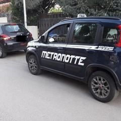 Metronotte Ruvo in azione
