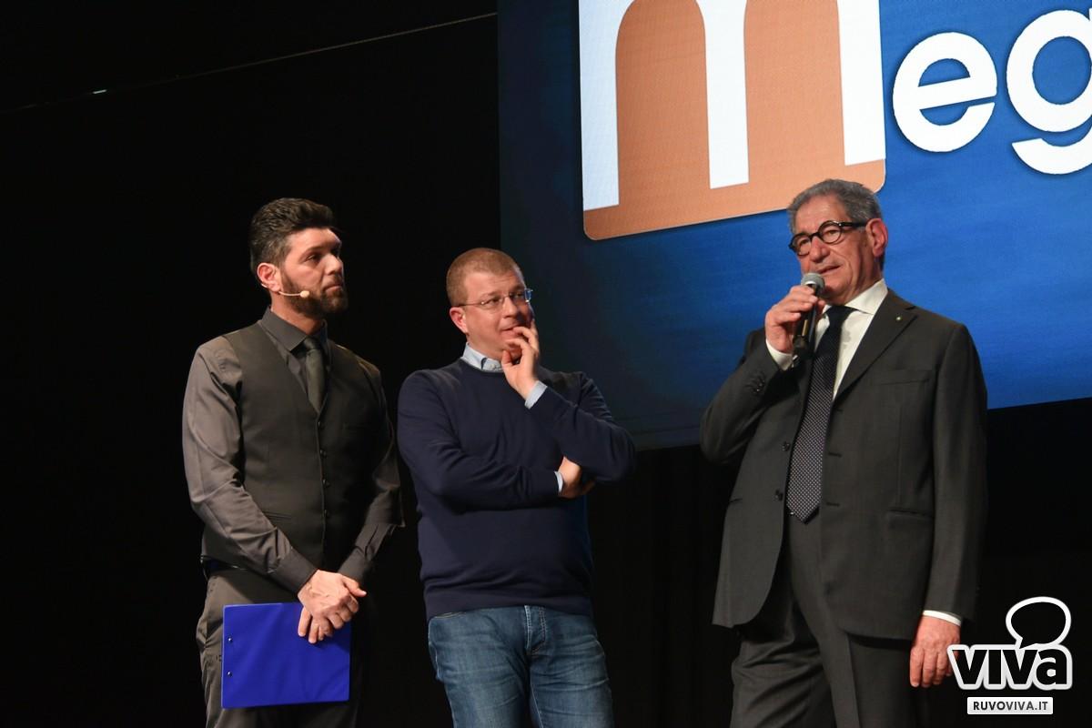 Da sinistra Pako Carlucci, Francesco Tarantini, Giovanni Pomarico