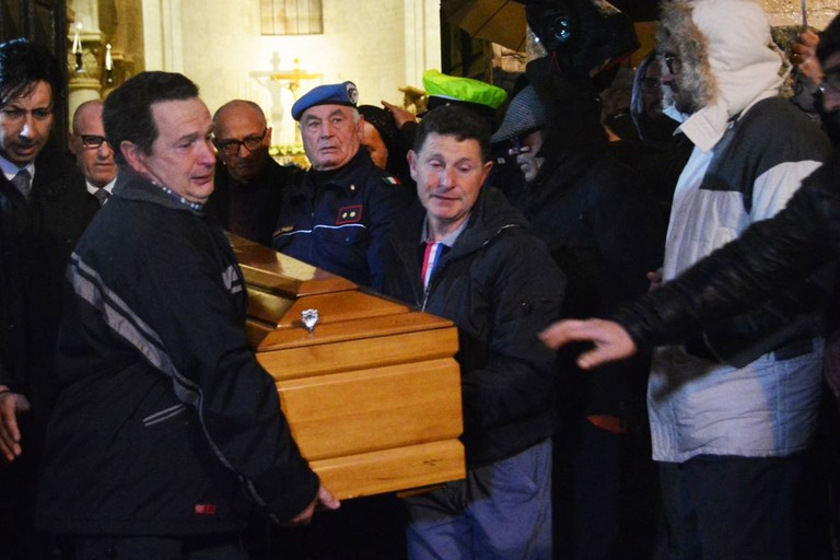 I funerali di Anna Rosa Tarantino