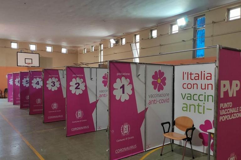 Hub vaccinale a Corato