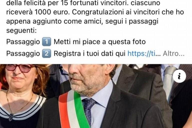 Profilo falso del sindaco Chieco