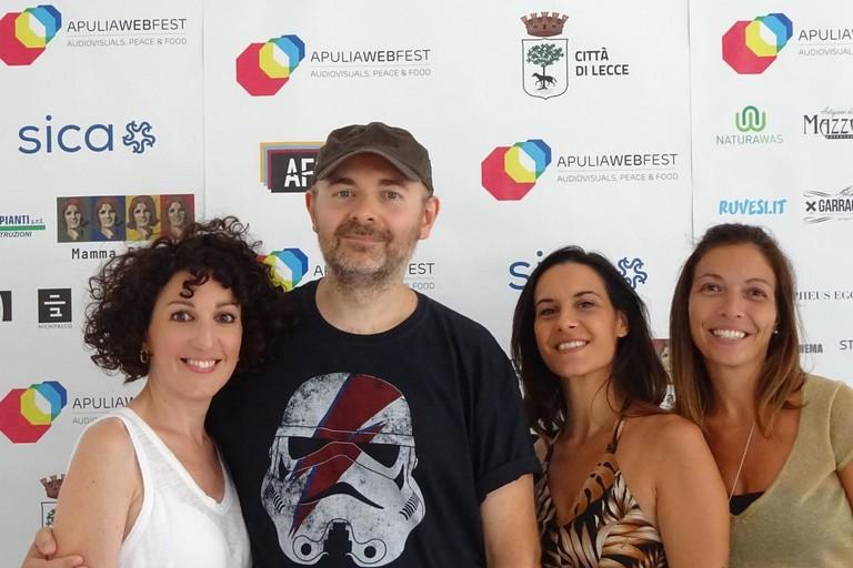 Michele Pinto e Daniela Iosca con Pamela Morgagni e Giusiana Ferrucci