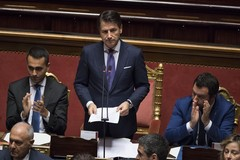 Il presidente del consiglio Giuseppe Conte a Ruvo di Puglia