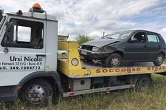 Incidente sulla strada per Mariotto. Miracolato un ruvese