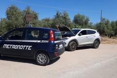 Ladri d'auto intercettati, scatta l'inseguimento: furto sventato