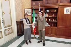 Il comandante dell'Esercito in Puglia incontra il Prefetto Magno
