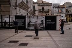 """""""Prima il silenzio"""" e """"Brother"""", arte, identità e azione diffusa nel centro di Ruvo"""