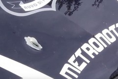 Assalto al bancomat dell'Unicredit e conflitto a fuoco con la Metronotte