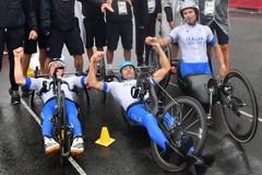 Luca Mazzone è di nuovo oro paralimpico nella staffetta