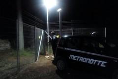 Il business dei pannelli: nuovo furto sventato dalla Metronotte