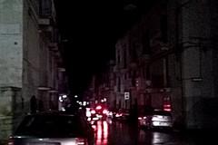 Ancora strade al buio a Ruvo
