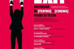 """Il Teatro Comunale di Ruvo di Puglia apre le porte a """"EXIT - RASSEGNA DI TEATRO + CINEMA FUORI DI TESTA"""""""