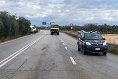 Camion finisce fuori strada, illeso il conducente