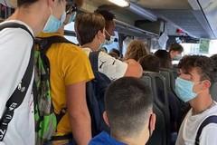 """Gli studenti di Ruvo protestano e Priorità alla Scuola denuncia: """"Autobus strapieni"""""""