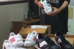 Scarpe contraffatte: erano destinate al commercio in Puglia