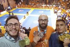 Medaglie per l' Olympia Grifo al Bari Jiu Jitsu Challenge 2019