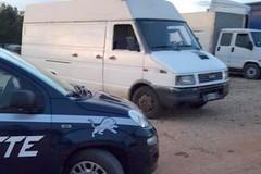 Metronotte Ruvo, intercettato furgone rubato caricato di pannelli fotovoltaici