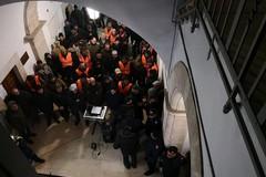 Protesta degli agricoltori, i trattori arrivano a Ruvo di Puglia