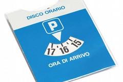 Disco orario per i parcheggi in centro