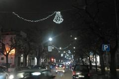 Aria di Natale, da domani luminarie accese sul corso cittadino