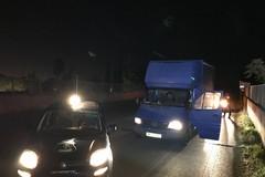 Inseguimento sulla sp231: bloccato camion con pannelli solari rubati