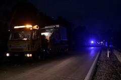 Incidente sulla Ruvo Molfetta, automezzo finisce fuori strada