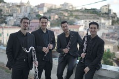 """L'""""Italian Clarinet Quartet"""" con Gianluigi Caldarola in concerto a Ruvo"""