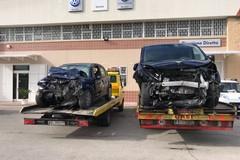 Brutto incidente sulla Corato - Bisceglie