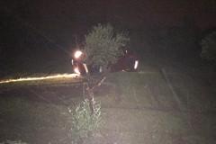 Auto fuoristrada sulla Ruvo Molfetta