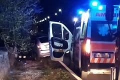 Incidente stradale sulla Corato - Ruvo di Puglia