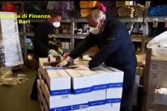 Mascherine non a norma, sequestro della Finanza: coinvolta una farmacia di Ruvo