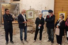 Ruvo di Puglia nei quadri ad acquerello di Lella Camerino