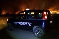 Incendio nella notte in prossimità di contrada Ferratella