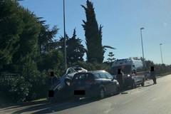 Incidente sulla Ruvo-Bisceglie, tre persone coinvolte
