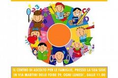 Centro di Ascolto per le famiglie: Incontri e laboratori per adulti e genitori