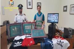 Capi contraffatti e giocattoli pericolosi: maxi sequestro della Finanza