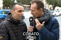 Cristiano Militello strappa un sorriso ai coratini, ai ruvesi e all'Italia