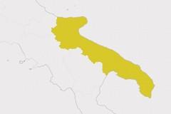 Covid, la Puglia resta in zona gialla