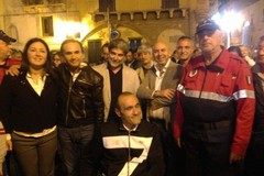 C'è anche Ruvo in piazza a festeggiare Luca Mazzone