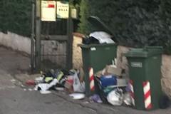 La denuncia di Piero Paparella: «A Calendano rifiuti da sabato»