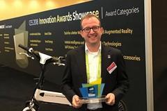 Roberto Peschetola, un ruvese a Las Vegas per il premio alla bici intelligente