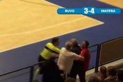 Sospeso il match del PalaColombo tra Futsal Ruvo e Real Team Matera