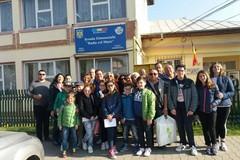 Una scolaresca della scuola Bovio in visita a Gaesti