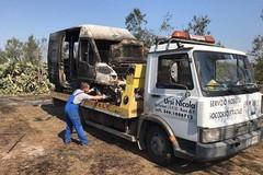 Rubato furgone carico di materiale edile