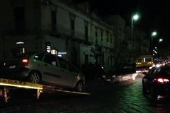 Impatto tra vetture su Corso Gramsci