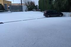 Anche Ruvo di Puglia si risveglia imbiancata dalla neve