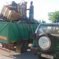Trasportava rifiuti ferrosi senza autorizzazione, denunciato