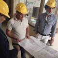 Proseguono i lavori a Palazzo Avitaja, il sopralluogo del sindaco